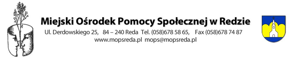 Miejski Ośrodek Pomocy Społecznej – MOPS REDA - ul. Derdowskiego 25,  84-240 Reda