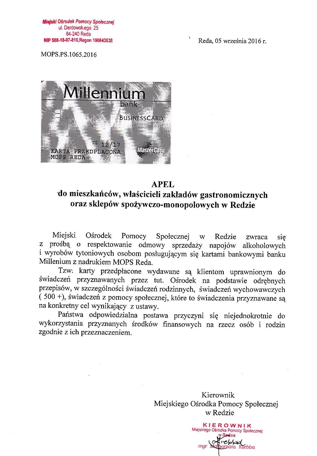 Apel  Kierownika _1