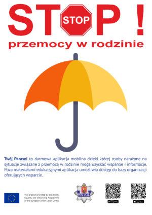 """""""Twój Parasol"""" – nowe narzędzie do walki z przemocą"""